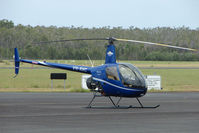 VH-RHC @ YCUD - These marks now worn by Robinson R22 Beta c/n 4310 at Caloundra