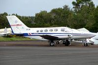 VH-JRK @ YCUD - Cessna 414A at Caloundra