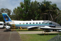 UNKNOWN @ YCUD - Unmarked Emb110 ex Air NZ Airlink - believed to be ZK-KIP c/n 364- at Caloundra , Queensland, Australia