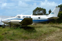 VH-ASY @ YCUD - This Beech A65-8200 looked WFU at Caloundra