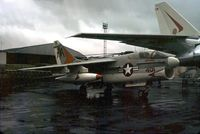 157593 @ LFPB - Corsair II coded AA/401 of VA-81 aboard USS Forestall displayed at the 1973 Paris Air Show at Le Bourget. - by Peter Nicholson