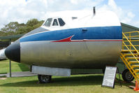 VH-TVJ - At the Queensland Air Museum, Calondra, Australia - Nose of Viscount that saw service between 1956-1968
