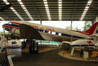 VH-ANR - At the Queensland Air Museum, Caloundra, Australia - this early example DC3 was first registered to KLM Airlines as PH-ALW in 1937 and saw service through to 1974 when it was stored