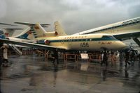 CCCP-87659 @ LFPB - This Codling of Aeroflot was displayed at the 1973 Paris Airshow at Le Bourget. - by Peter Nicholson
