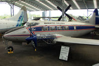 VH-MAL - At the Queensland Air Museum, Caloundra, Australia - This DH104 Dove was delivered to east african Airways in 1948 , before being sold to Australia in 1951 - achieved 10,310 flying hours before its last flight in 1980