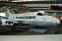 VH-KAM - At the Queensland Air Museum, Caloundra, Australia - this Heron achieved 29,999 flying hours