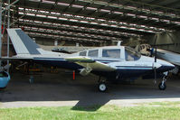 VH-UNI - At the Queensland Air Museum, Caloundra, Australia - This Beagle previously operated as G-ATZR and VH-UNL