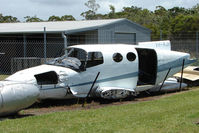 VH-RJH - At the Queensland Air Museum, Caloundra, Australia - Remains of Cessna 402 following Serious incident at Maroochydore on 18th May 2001