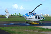 VH-JOW @ YBMC - Energex sponsered Community Services Bell 206L