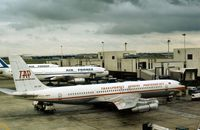 CS-TBT @ LHR - In service with TAP as seen at London Heathrow in September 1977. - by Peter Nicholson