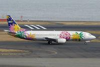 JA737F @ RJTT - Skynet Asia B737 at Haneda - by Terry Fletcher