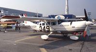N9896M @ LFPB - Cessna T207 of MACAVIA International at Aerosalon Paris 1989