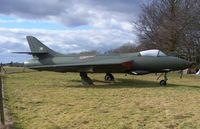 E-423 @ EGHL - EX RDAF HUNTER F51 - by moxy