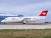 HB-IYT @ EGCC - Swiss International Air Lines - by chris hall