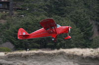 N1303C - Takeoff at Copalis Beach, WA - by Michael Henderson