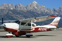 N212RC @ KJAC - New Flight Charters aircraft, available for charter and scenics - by Rick Colson