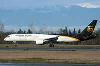 N414UP @ KPAE - KPAE (UPS 9492 arriving from KONT for maintenance at Goodrich)