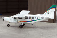 VH-CCI @ YTDN - One of two Airvans belonging to the local Flying School at Tooradin Airport VIC