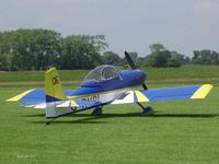 G-RVPL @ EGSV - Visitor - by keith sowter