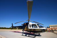 N105LN - On the Arrowhead Hospital Landing Pad - by David Transier - Zonaphoto.com