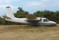 VH-CAW @ YMMB - 1959 Aero Commander at Moorabbin looking decidedly WFU