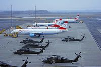 81-23568 @ VIE - US Army Sikorsky Black Hawk diverted to VIE d/t bad weather in LNZ - by Patrick Radosta