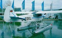 D-EEKL - Piper PA-18-150 Super Cub at AERO Friedrichshafen 1997 - by Ingo Warnecke