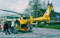 D-HHBG - MBB Bo 105S of ADAC EMS at AERO Friedrichshafen 1997 - by Ingo Warnecke