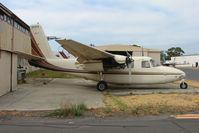 VH-EXV @ YMMB - 1958 Aero Commander WFU at Moorabbin