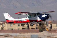 N1079M @ VGT - West Air Flight Training's 1971 Cessna 172L Skyhawk N1079M climbing out from RWY 12R. - by Dean Heald