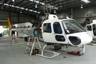 VH-HSV @ YMMB - Eurocopter AS350B2 receiving Maintenance at Moorabbin