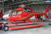 VH-JBY @ YMMB - Eurocopter EC120B at Moorabbin