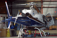 VH-SCO @ YMMB - AS350D on maintenance at Moorabbin - by Terry Fletcher