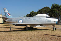 A94-989 @ YMMB - Sabre at Moorabbin Museum - by Terry Fletcher