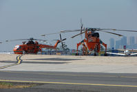 N218AC @ YMEN - Erickson Cranes at Essendon a couple of days before the Victoria Bushfires