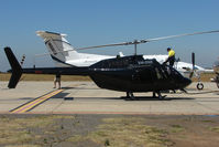 VH-ONE @ YMEN - All black Eurocopter EC120B at Essendon - by Terry Fletcher
