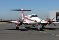 VH-MWZ @ YMEN - Beech 200 at Essendon