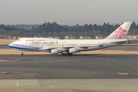 B-18207 @ RJAA - China Airlines B747 at Narita