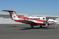 VH-MWU @ YMEN - Beech 200 at Essendon