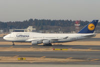 D-ABTD @ RJAA - Lufthansa B747 at Narita