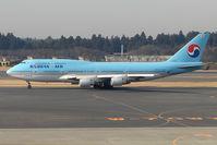 HL7461 @ RJAA - KAL B747 at Narita
