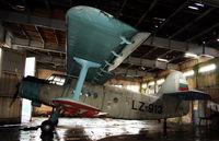LZ-913 @ LBSZ - Stara Zagora Airport, hangar - by Attila Groszvald / Groszi