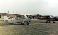G-ATHK @ EGBG - Aeronca 7AC G-ATHK at the Leicester PFA Rally 1979 - by GeoffW