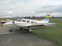 G-BPXX @ EGSV - Colourful Visitor - by keith sowter