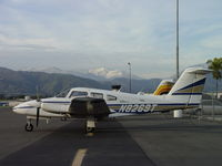 N8269T @ POC - Parked at Brackett - by Helicopterfriend
