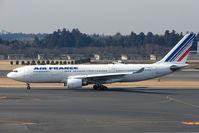 F-GZCJ @ RJAA - Air France A330 at Narita