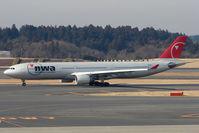 N811NW @ RJAA - NW A330 at Narita