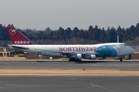 N645NW @ RJAA - NW B747 Freighter at Narita