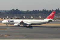 N815NW @ RJAA - NW A330 at Narita