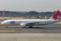 JA707J @ RJAA - JAl B777 at Narita
